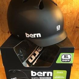 (価格改定前)BERN バーン オールシーズン Watts ワッツ BK/XL ※JAPANフィット