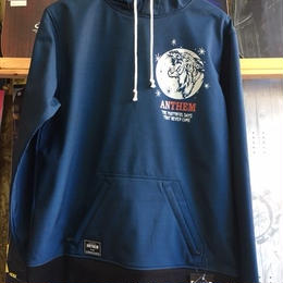 ANTHEM BONDED TIGER HOODIE (03 SWEAT NAVY)  Msize