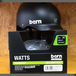 BERN バーン   Watts ワッツ BLACK