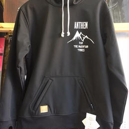ANTHEM BONDED MOUNTAIN HOODIE (01 BLACK)