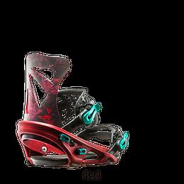 16-17 FLUX フラックス スノーボード ビンディング DS-RED/Mサイズ