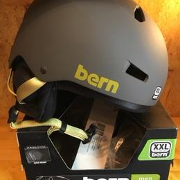 (価格改定前)残り1つ BERN バーン  Winnter macon メーコン mt charcoal grey XL※JAPANフィット
