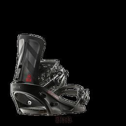 16-17 FLUX フラックス スノーボード ビンディング XF-BLACK/Mサイズ