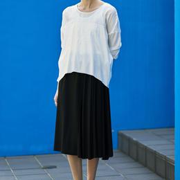 ミモレ丈スカート(ブラック)