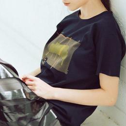 mini T-shirts(Le Corbusier・dark navy)