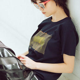 mini T-shirts(Le Corbusier・dark navy)