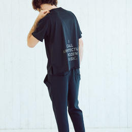 BIG T-shirts(Logo Rubber Print・dark navy)