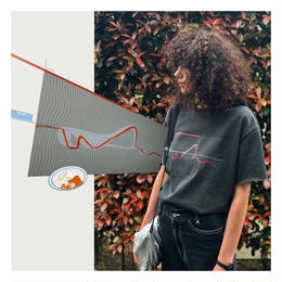 BIG T-shirts(zaha・charcoal gray)