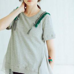 裏毛Tシャツ(light gray)
