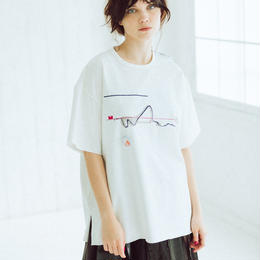 BIG T-shirts(zaha・white)