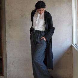 Wide pants(gray check)
