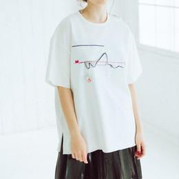 BIG T-shirts(zaha・white)