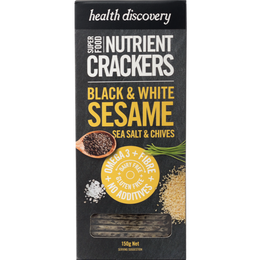 Black & White Sesame  - セサミ&シーソルト&チャイブ (スパイス&ハーブスナック- 150g)