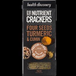 Paleo Four Seeds - Turmeric & Cumin - パレオ・フォーシーズ、 ターメリック&クミン (スパイス&ハーブスナック- 150g)