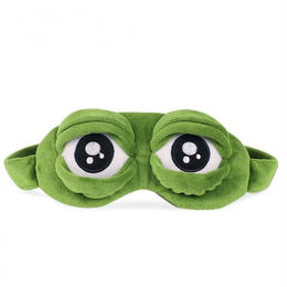 カエル睡眠眼帯 アイマスク