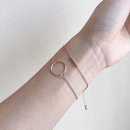 円丸 と一字のブレスレットセット