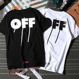 大人気 オフホワイト OFF-WHITE Tシャツ 半袖 人気新品 男女兼可 F89-OF-2009