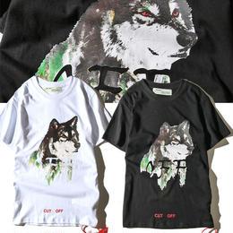 大人気 オフホワイト OFF-WHITE Tシャツ 半袖 人気新品 男女兼可 F89-OF-2010