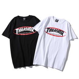 特価 数量限定 大人気 THRASHER スラッシャー Tシャツ メンズ レディース 半袖 人気新品 男女兼可 14-TH-7013