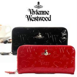 ★Vivienne Westwood ヴィヴィアンウエストウッド財布 長財布 レザー [VW-08]