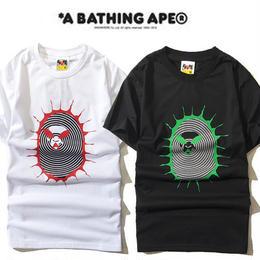 大人気 A BATHING APE ア ベイシング エイプ Tシャツ 半袖 人気新品 男女兼可 F89-AP-6050