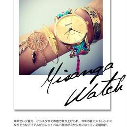送料無料 ミサンガ ウォッチ 腕時計 watch アクセサリー 大人気