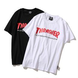 特価 数量限定 大人気 THRASHER スラッシャー Tシャツ メンズ レディース 半袖 人気新品 男女兼可 14-TH-7029