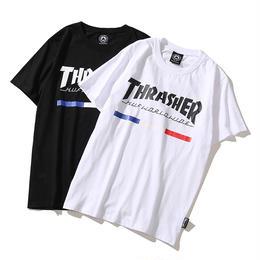 特価 数量限定 大人気 THRASHER スラッシャー Tシャツ メンズ レディース 半袖 人気新品 男女兼可 14-TH-7016