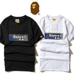 大人気 A BATHING APE ア ベイシング エイプ Tシャツ 半袖 人気新品 男女兼可 F89-AP-6062