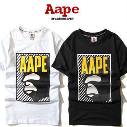 大人気 A BATHING APE ア ベイシング エイプ Tシャツ 半袖 人気新品 男女兼可 F89-AP-6084