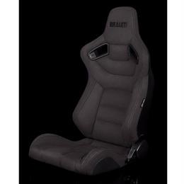 2脚【Braum Racing セミバケットシート グレースウェード】