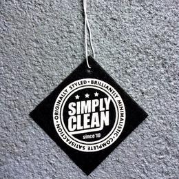 【Simply Clean エアフレッシュナー 白黒】