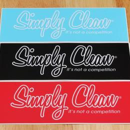 【Simply Clean バンパーステッカー】