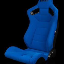 2脚【Braum Racing  セミバケットシート ブルー】