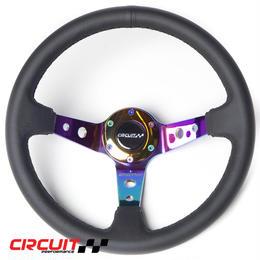 【Circuit Performance ステアリングホイール ネオクローム V1】