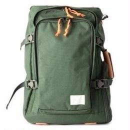 SQUARE BACKPACK /KHAKI VBOM-3467