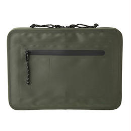 WATERPROOF CLUTCH BAG /KHAKI CBOM-2007
