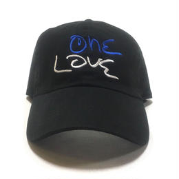 One Love Dad Hat (Black x Blue x White)
