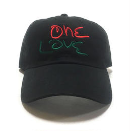 One Love Dad Hat (Black x Red x Green)