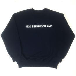 1520 Sedgwick Ave. Crewneck (Navy)