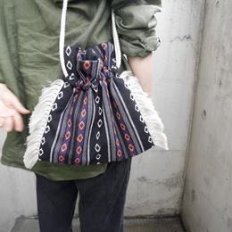 kinchaku bag PURPLE
