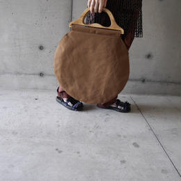 circle large bag CAMEL