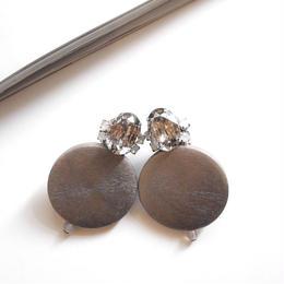 circle bijou  pierce/earrings SILVER