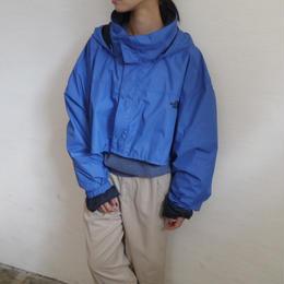 remake short nylon jacket