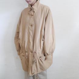 euro stand neck coat