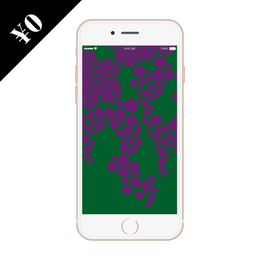 smartphone wallpaper   - budou -
