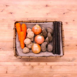 <毎日の食卓に> 季節のおまかせ 根菜セット