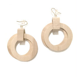 wood circle pierce