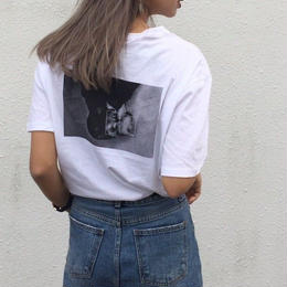 back photo T-shirt