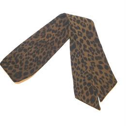 leopard multi scarf